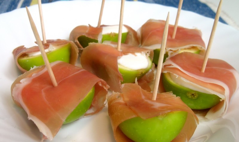 Ham Wrapped Figs