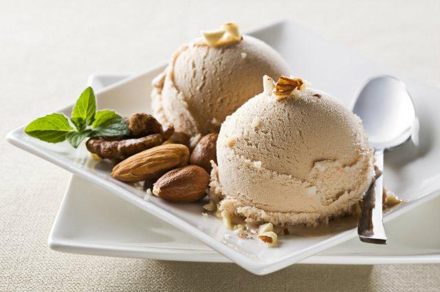 Hazelnut Ice Cream