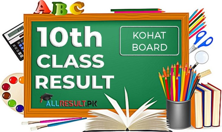 check online BISE Kohat Board 10th Class Result 2020