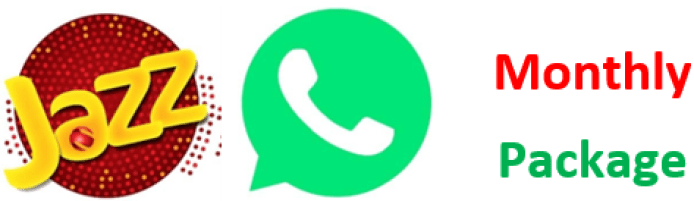 Jazz WhatsApp Packages List with code of subscription