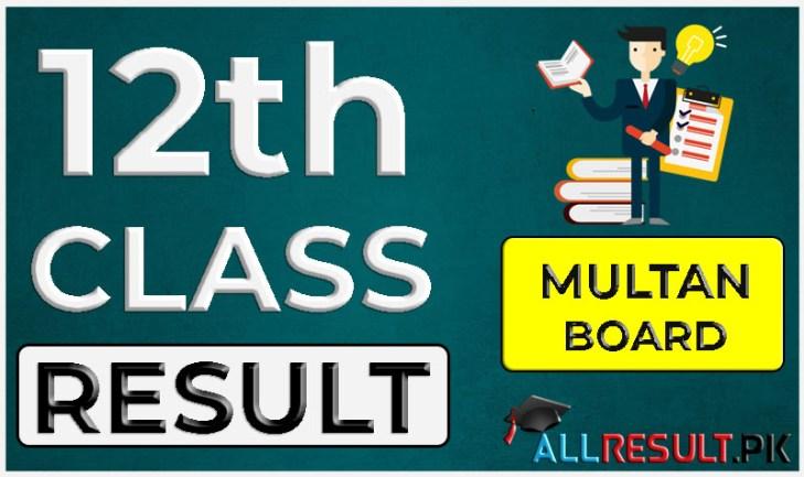 12th Class Result 2020 BISE Multan Board