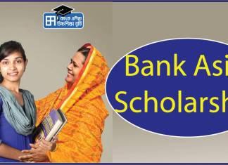 Bank Asia Scholarship