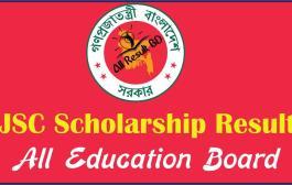 JSC Scholarship Result 2017 All Education Board