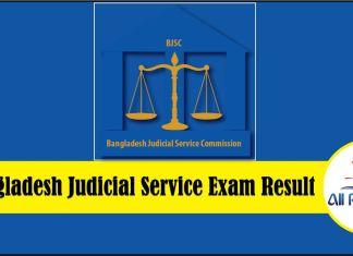12th BJSC Result 2018 Bangladesh Judicial Service
