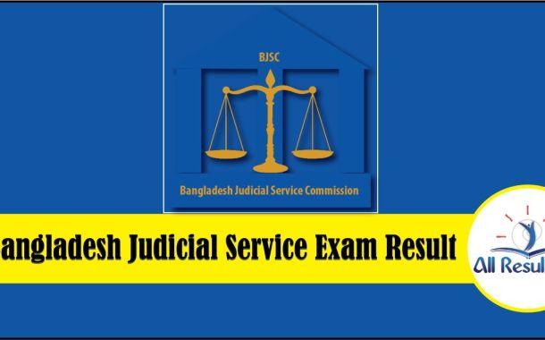12th BJSC Result 2018 Bangladesh Judicial Service Exam Result