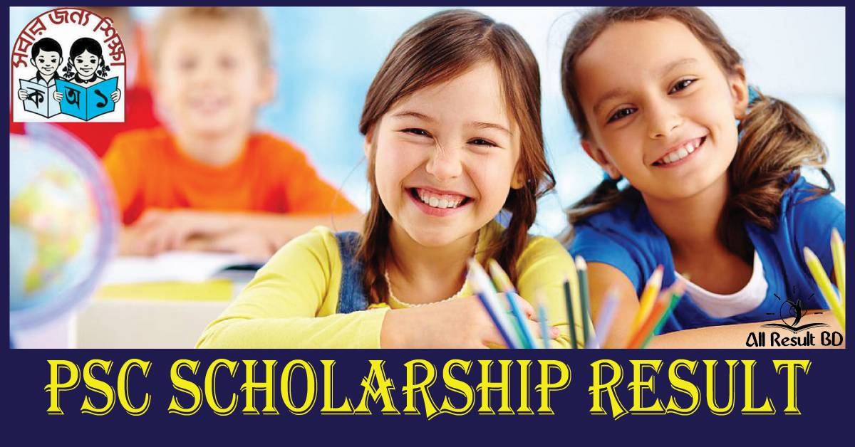 PSC Scholarship Result 2017 Primary Education Board