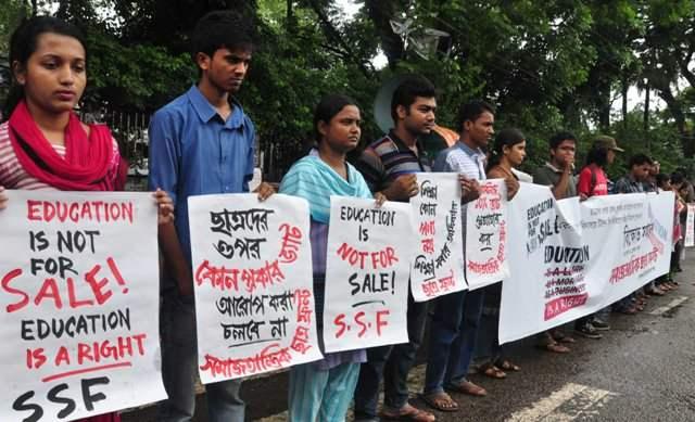 Private University Students Demand No VAT on Education