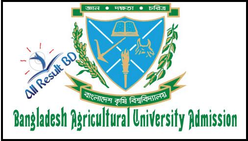 Bangladesh Agricultural University Admission Circular 2016-2017