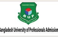 Bangladesh University of Professionals Admission Circular 2017-18