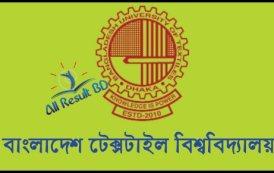 Bangladesh University of Textiles Admission Circular 2017-18