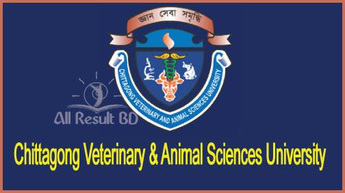 Chittagong Veterinary & Animal Sciences University Admission Result Notice 2016-17