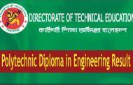 Polytechnic Diploma in Engineering Result 2017 bteb.gov.bd