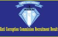 DUDOK- Anti Corruption Commission Recruitment Result 2017