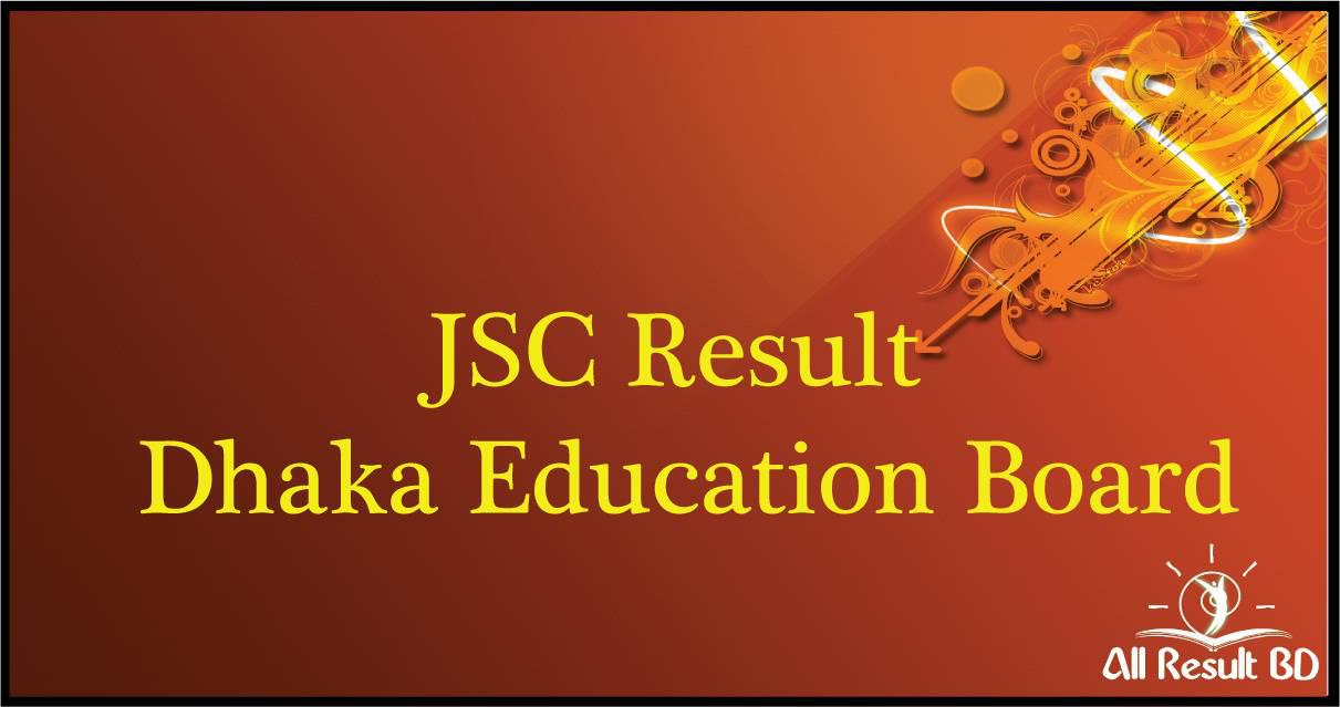 JSC Result 2016 Dhaka educationboardresults.gov.bd