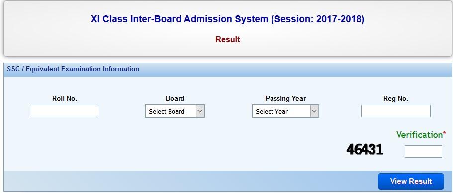 HSC 2nd Merit List Result