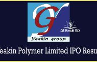 Yeakin Polymer Limited IPO Result Published
