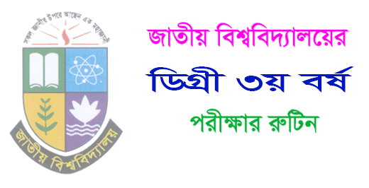 Degree 3rd Year Routine 2019