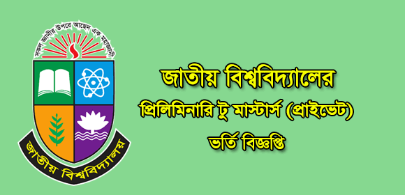 Masters Preliminary Admission Private 2019