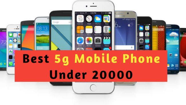 Top 5g mobile phones