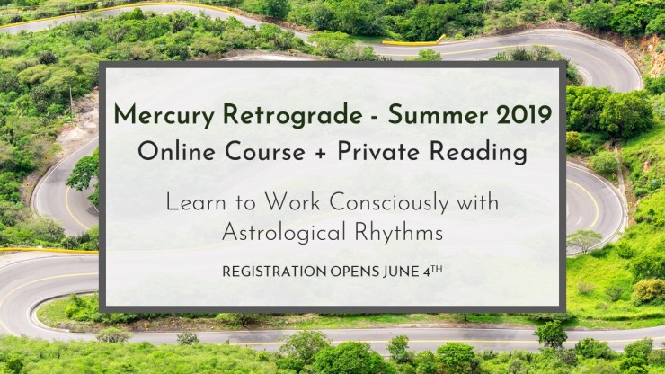 Mercury Retrograde 2019 Banner