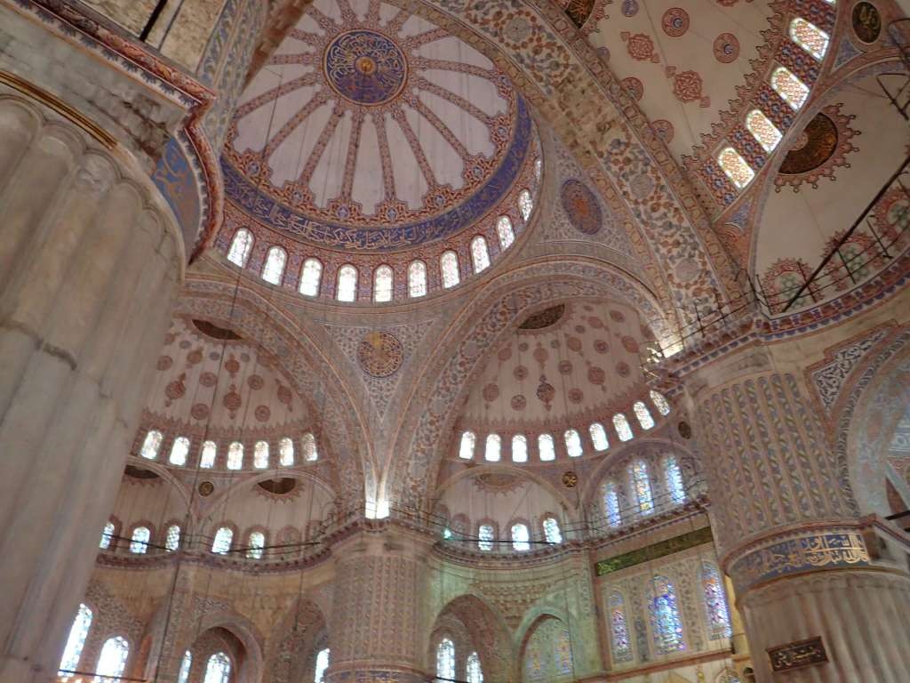 The interior – the roof, at least