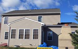 Delaware Siding installation