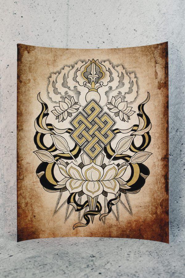 All Sacred | Aries Rhysing Print 2