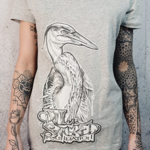 All Sacred | Women's White Heron Tank