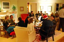 Annual Christmas Party at the Rectory