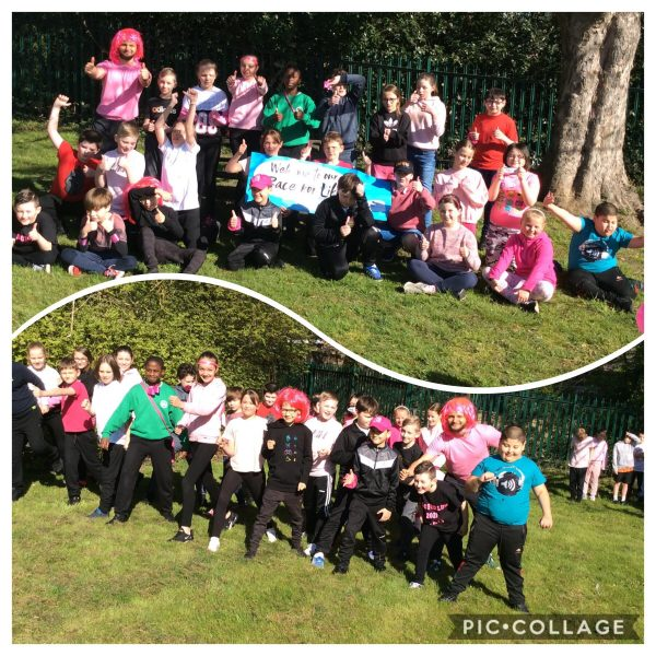 Heading – Thursday 22nd April 2021 – Race for life