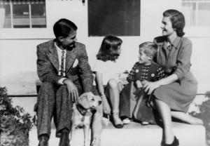 Elinor Doty 1940s B&W