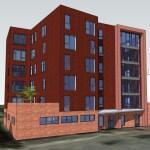 Retirement flats replacing Anniesland Methodist Church