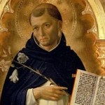 Saint Dominic and the Perseid meteors