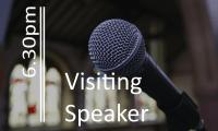 Visiting Speaker pm