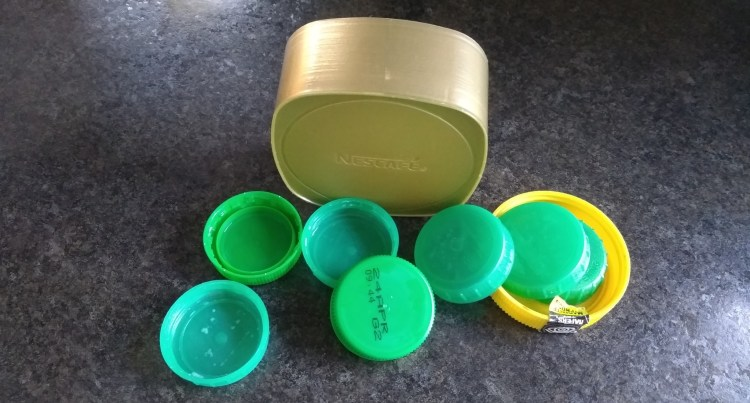Hard Plastc Lids for Recycling