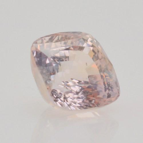 7 carat untreated peach sapphire