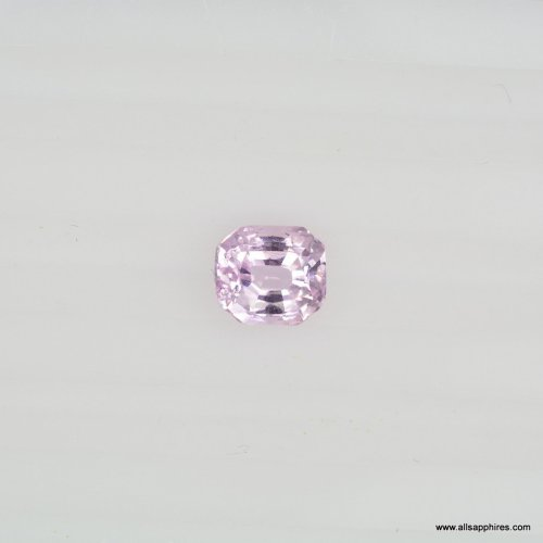 loose Peach Pink Sapphire
