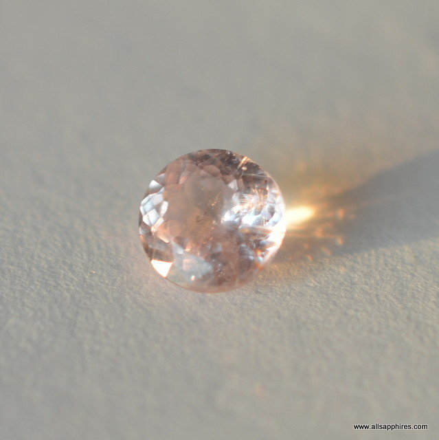 Peach champangne Sapphire