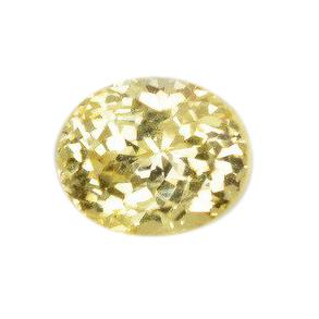yellow sapphire untreated