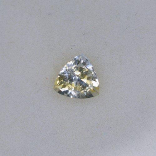 Trillian bi-color yellow sapphire