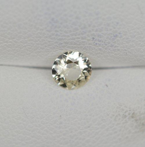 Yellow round sapphire