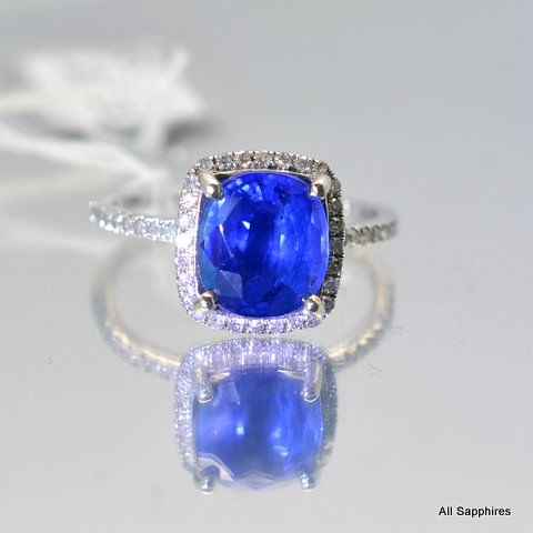 heat carat product ceylon img cornflower gemstone faceted oval blue sapphire only