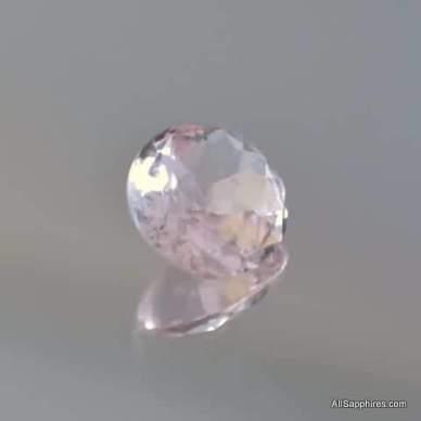 natural peach sapphire