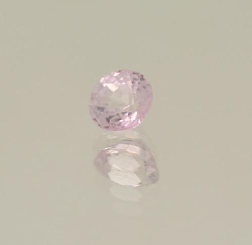 peach sapphire round