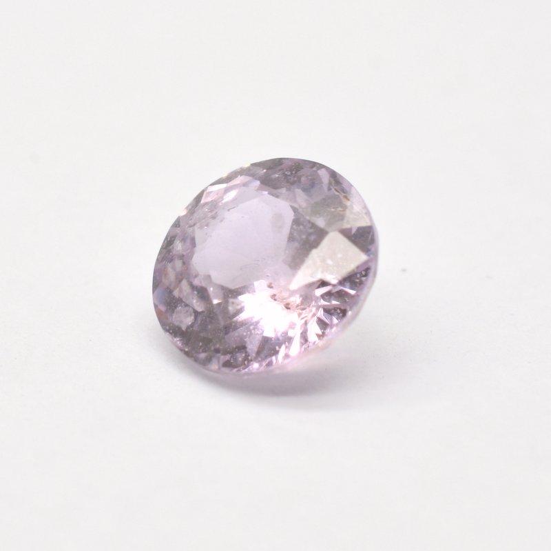 Lavender round sapphire