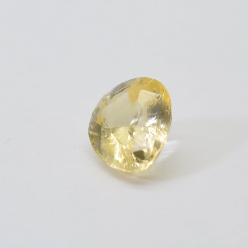 yellow sapphire, pear shape yellow sapphire, untreated yellow sapphire, 3 carat yellow sapphire