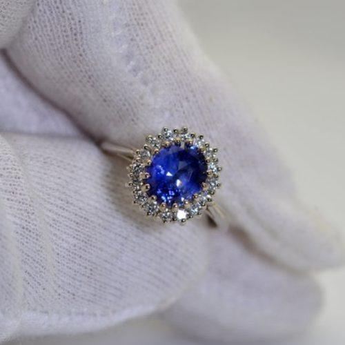 Princess Dianna engagement ring