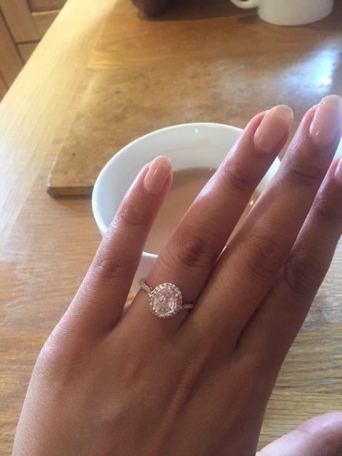 ring on a finger