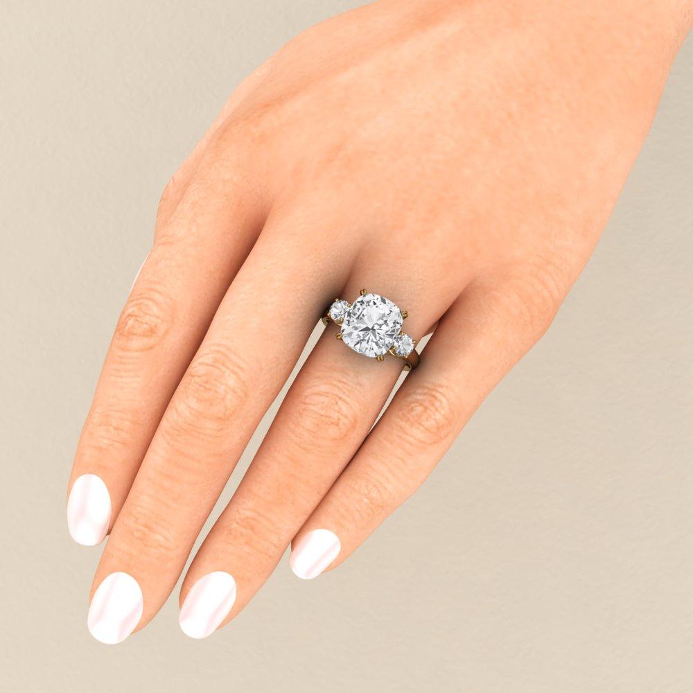 Celebrity Engagement Rings Meghan Markle Engagement Ring