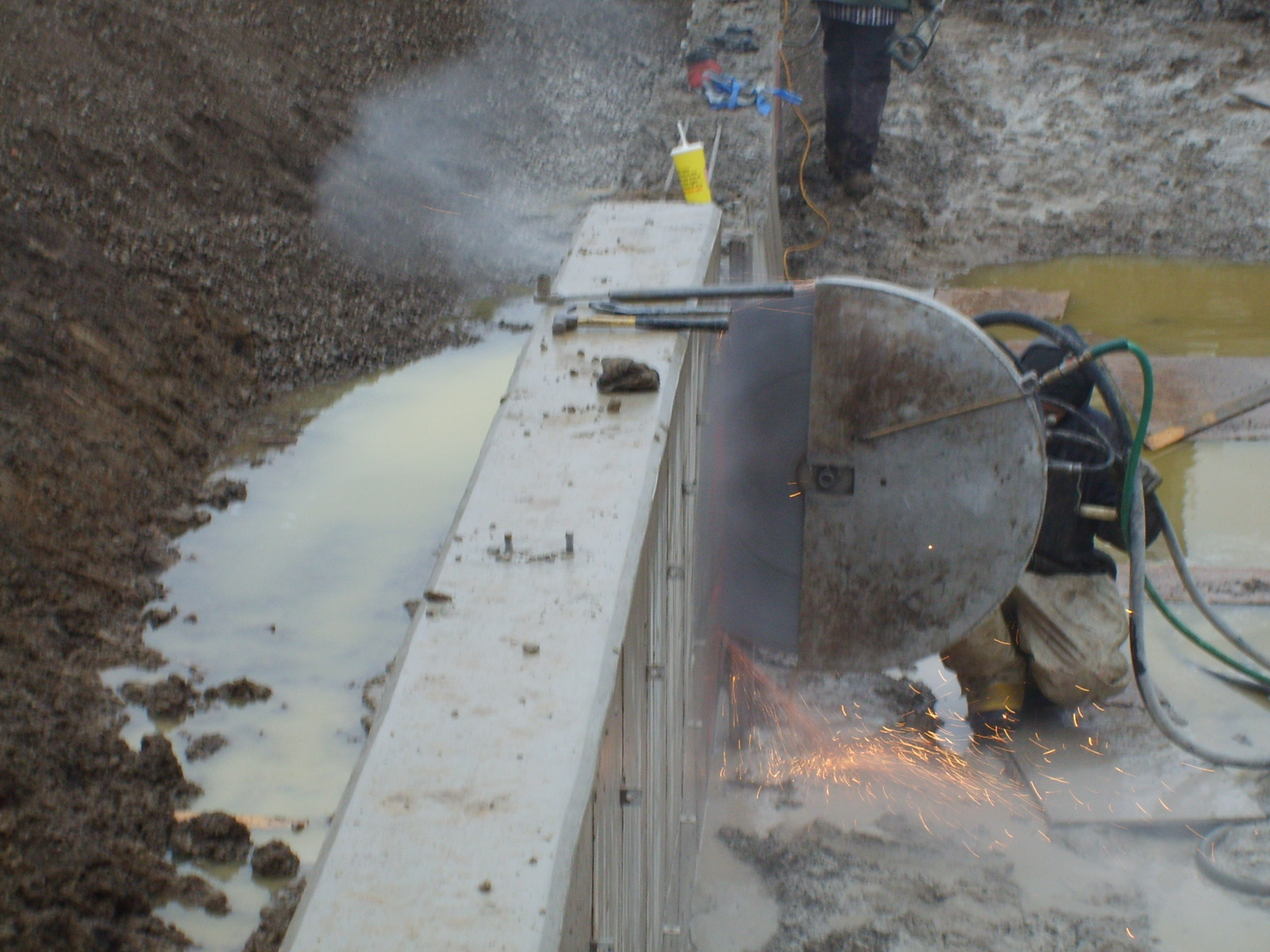 Wall Sawing All Saw Concrete Cutting